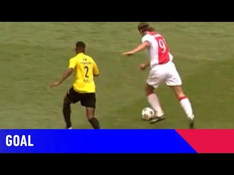 15 years ago Zlatan Ibrahimovic scored this sensational solo goal vs NAC in his last game for Ajax