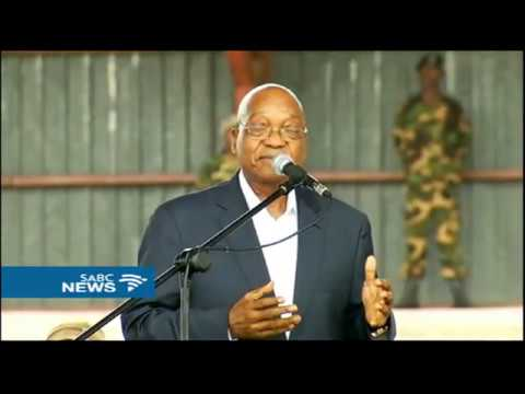 President Zuma has addressed the ANC Thank You Rally in Bushbuckridge