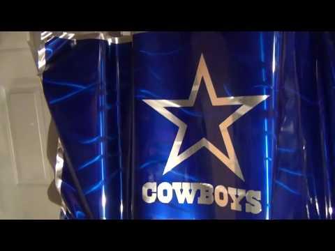 Cowboys Vs Redskins Metal Art Flags