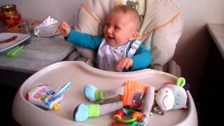 fou rire de bébé Sohan!