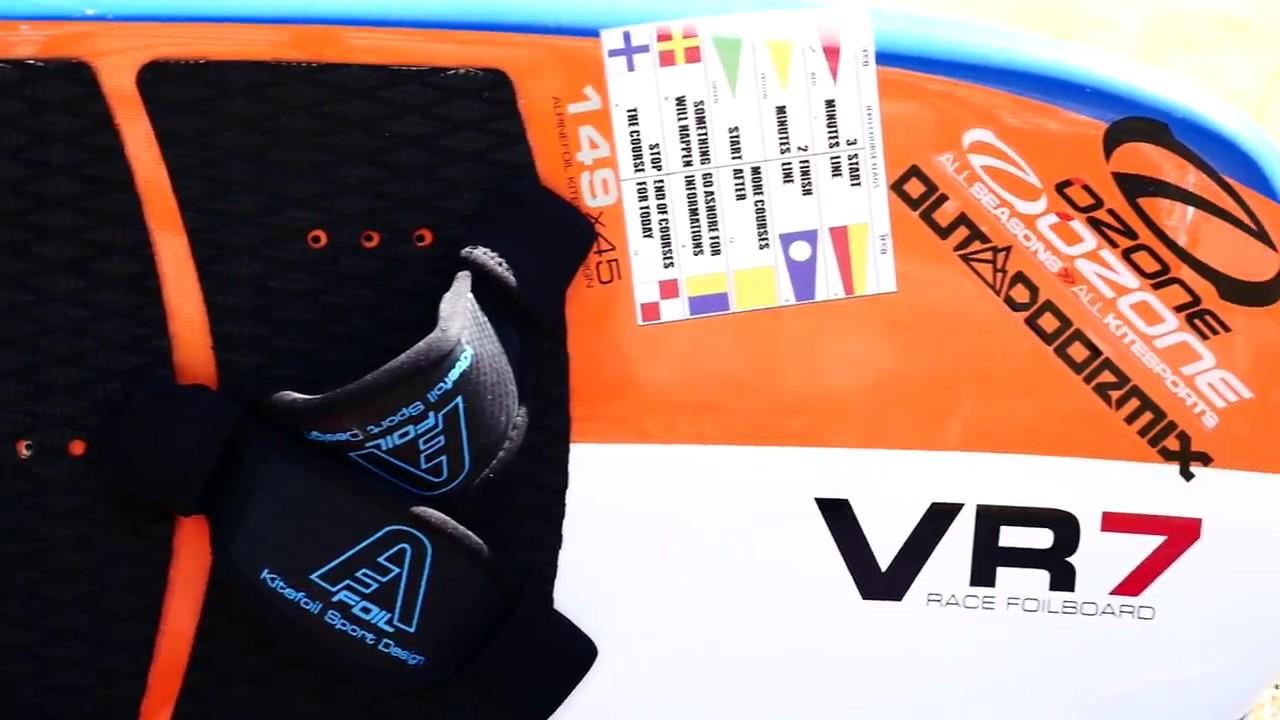 Freestyle foilboard  VR7 - Kitefoil Alpinefoil TITANIUM 2018