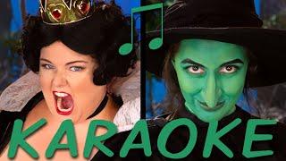 QUEEN OF HEARTS vs WICKED WITCH Karaoke (Princess Rap Battle) Instrumental Sing-along