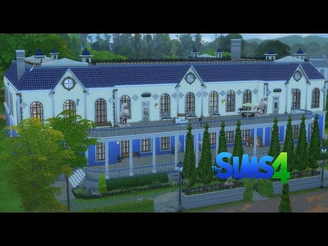 Orlesian Chateau Speed Build - Sims 4
