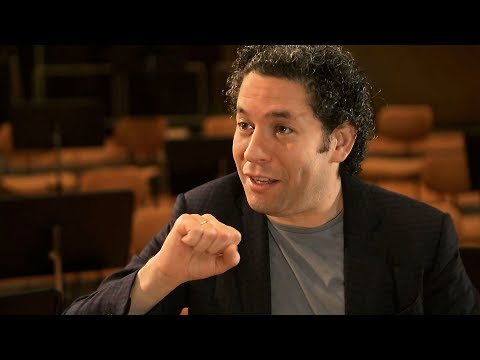 Gustavo Dudamel talks about working with the Berliner Philharmoniker