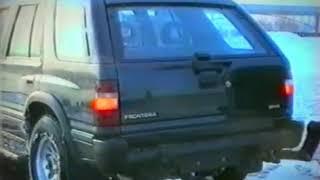 Opel Frontera TEST Drive 1992