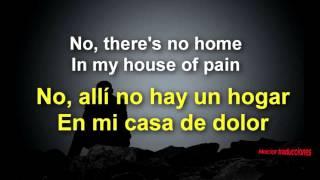 The White Buffalo House Of Pain traducida Español