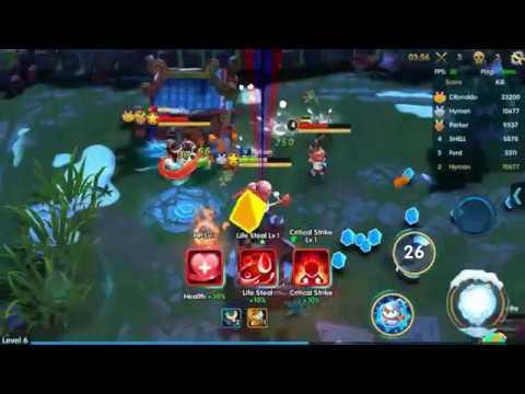PoPo War, an amazing Multiplayer Online Battle Arena game