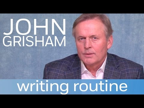 John Grisham On His Regimented Writing Routine | Author Shorts