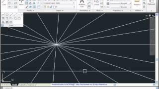 AutoCAD 2011  Урок 16  Многоугольник  Часть 2