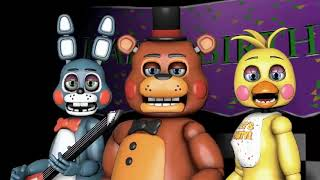 SFM FNAF Five Nights at Freddy's 1 Song by The Living Tombstone (OLD VERSION REUPLOAD)