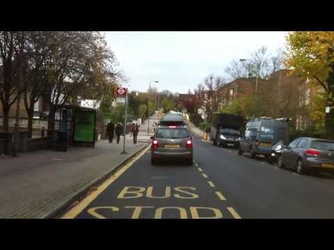 London streets (239.) - Nightingale Ln (SW12) - Wimbledon - Raynes park - M3 - M25