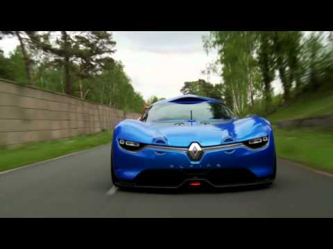 renault alpine a110 50 concept test youtube. Black Bedroom Furniture Sets. Home Design Ideas