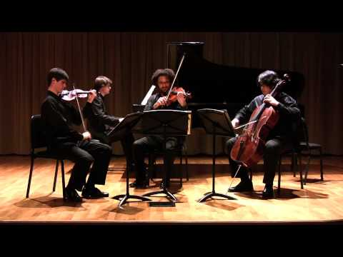 Brahms Piano Quartet in c minor op. 60, I. Allegro ma non troppo - Colburn Piano Quartet
