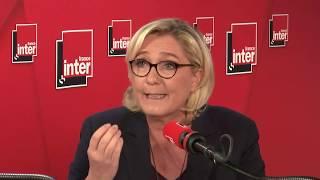 Marine Le Pen, invitée du grand entretien