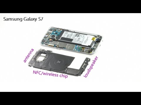Samsung Galaxy S7 Antenna Nfc Loudspeaker Modules Repair Guide Youtube