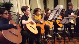 Kemal by M.Hadjidakis, LPSM Guitar Ensemble.
