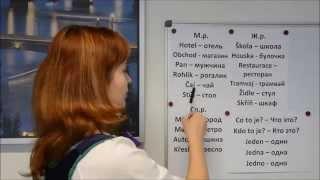 Чешский язык онлайн. Видеоуроки чешского языка. Урок 4