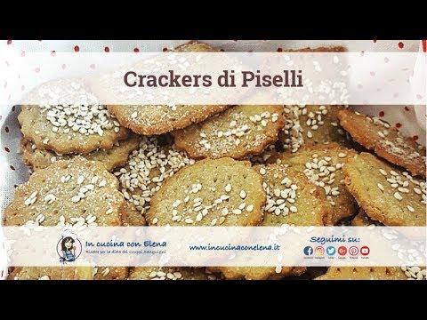 In cucina con elena videolezione di cucina cracker e grissini di piselli e salsa salmonata - In cucina con elena ...