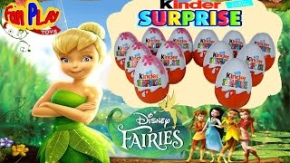 NEW Kinder Surprise - Disney Fairies | LIMITED Edition - Fan PLAY Toys