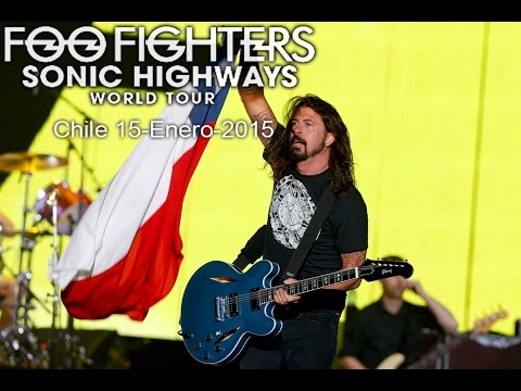 Foo Fighters Live Chile 2015 Full Show  (2°parte) [MultiCam]720p