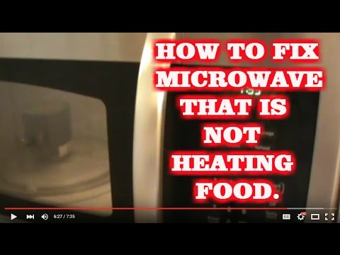 Microwave Not Heating Food Bad Magnetron Replaced Youtube