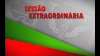 Sess�o Extraordin�ria 25/08/2016