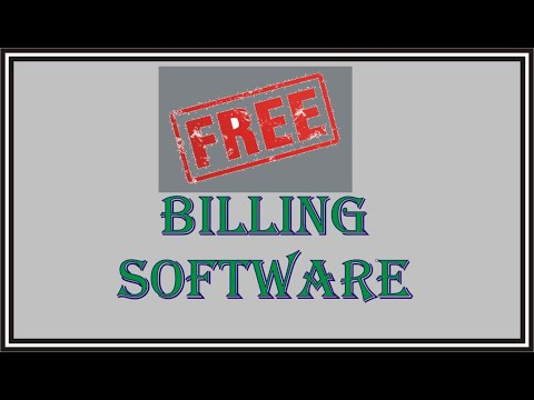 Free Business Billing Management Software Lifetime with GST Feature Ready to use Direct Download