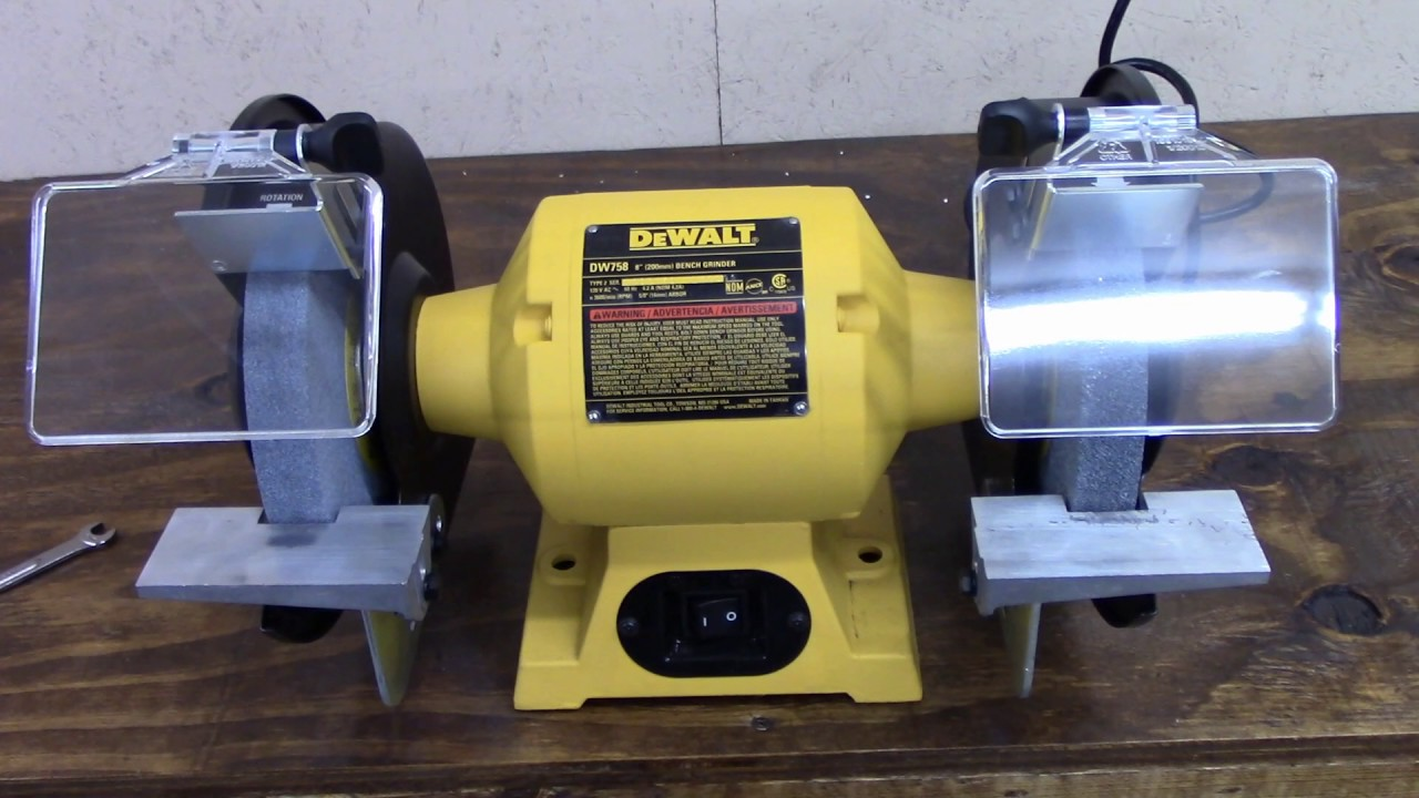 Dewalt Bench Grinder Youtube