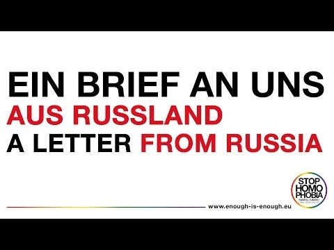 A letter from Russia / Ein Brief aus Russland