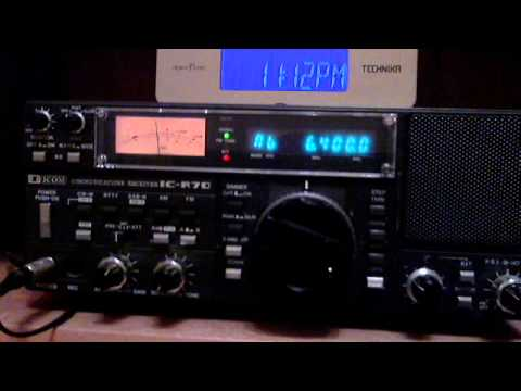 Pyongyang BS on 6400 KHz - 33 min recording
