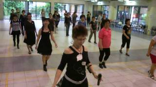 Line Dance Party @ Tampines West CC - Cherry Blossom Cha Cha