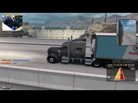 TRUCKIN🚚AND CRASHING💥ON ATS+WHEEL CAM | SILENT SCOTTY🌎JOIN US OR CHAT