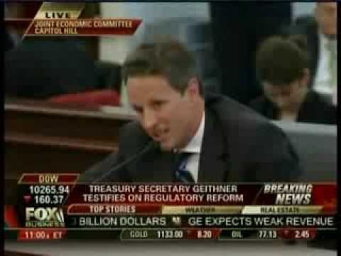 Congressman Burgess-Smug Weasel Tiny Tim Geithner-You Should of Never Been Hired