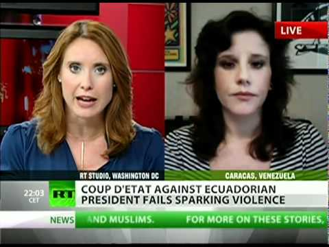Coup D'état in Ecuador — Breaking News