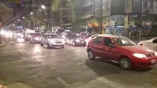 Bocinazo de ATE en Córdoba reclamando contra el ajuste