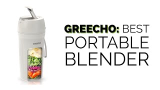 GREECHO: Best Portable Blender | Enjoy Smoothies ANYWHERE | Perfect Travel Size Blender