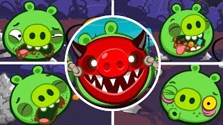 Bad Piggies - Tusk Til Dawn Halloween (Level 9 to 12) [Mobile Games]