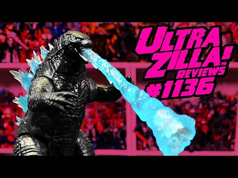 PLAYMATES TOYS GODZILLA VS. KONG HEAT RAY GODZILLA REVIEW!