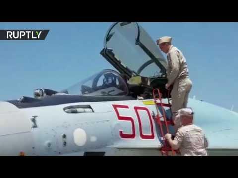 الأسد يتفقد -سو-35- وأحدث أنواع الأسلحة الروسية في قاعدة حميميم  - نشر قبل 16 دقيقة