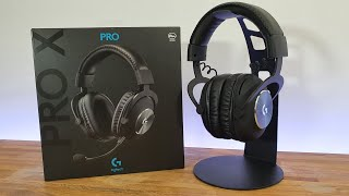 Logitech G PRO X BEST GAMING HEADSET UNBOXING AND SETUP