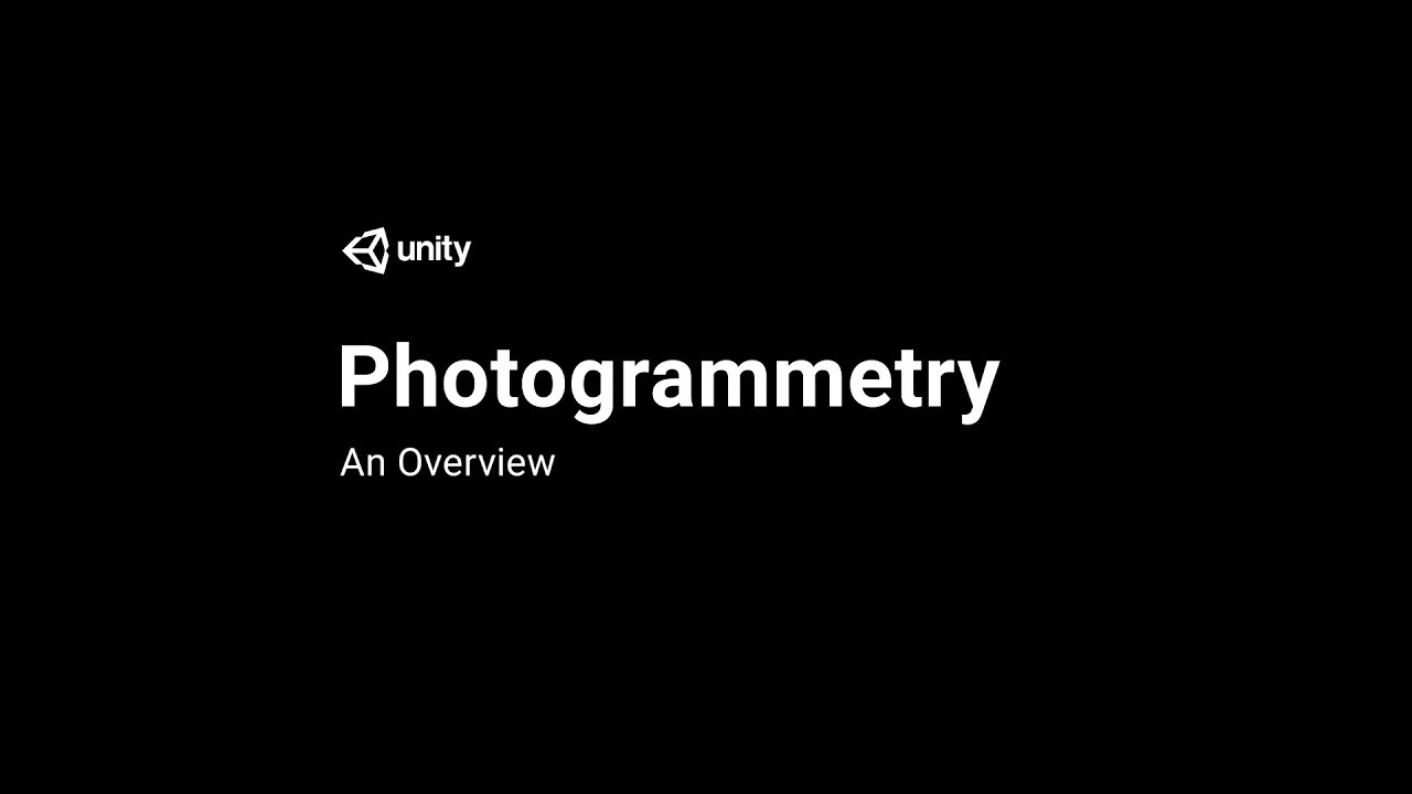 Photogrammetry In Unity: An Overview