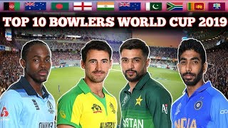 TOP 10 BOWLERS IN WORLD CUP 2019 | TOP WICKETS TAKERS IN WORLD CUP 2019 | World Cup 2019 TOP BOWLERS