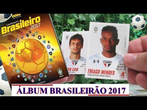 Album Campeonato Brasileiro 2017 - Brasileirão 2017 Panini