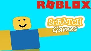 ROBLOX Scratch Games