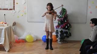 Анданте (Гайдн) - Алина, 5 класс (2ой год музыкалки)
