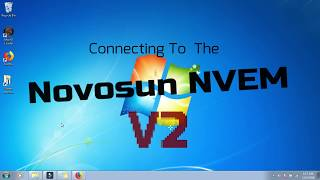 Connecting to your Nvem V2 Part  1- Solved :0 ;) :D