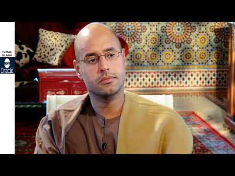 Saif Gaddafi to run for Libya's presidency to 'save' country 7 years after father's murder