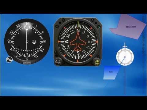 Intercepting VOR Radials