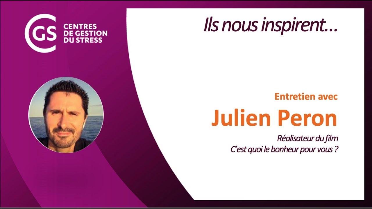 Entretien avec Julien Peron