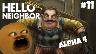 Annoying Orange Plays - Hello Neighbor #11 (MUSTACHE YOU A QUESTION!)